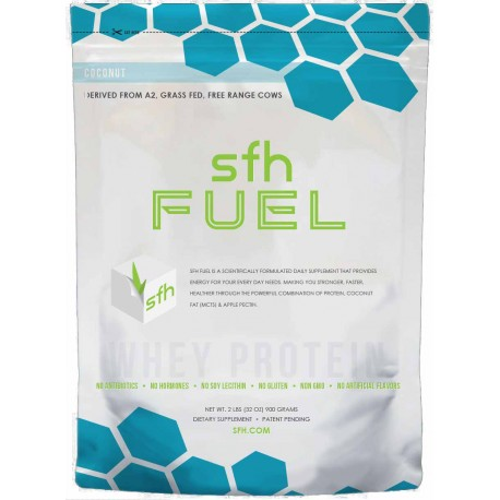 "SFH WHEY PROTEIN POWDER ""FUEL"" COCONUT FLAVOR"